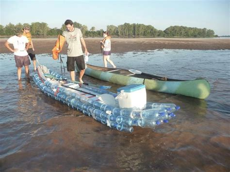 Water Bottle Boat by Plastic Bottle Boat Upcycling Recycled
