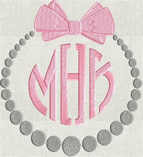 block monogram font embroidery file  letters