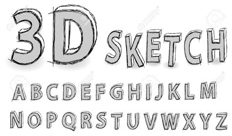 how to draw letters in 3d tutorial how to draw 3d abc blocks letters easy step by 50276