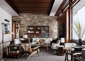 Rustic Living Room by Studio Sofield by Architectural ...