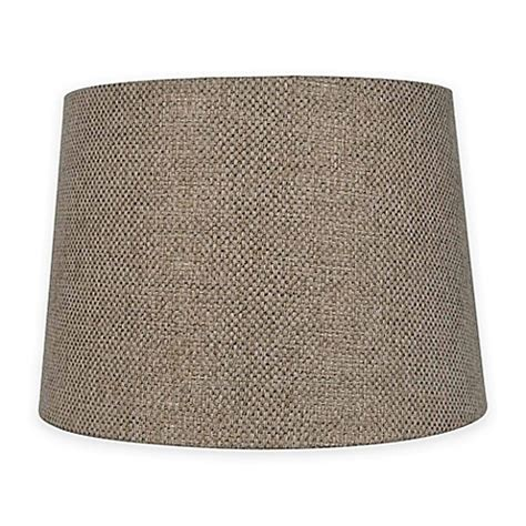 l shades bed bath and beyond mix match medium 14 inch textured l shade in brown