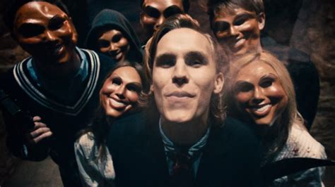 creepy mask   purge movies including