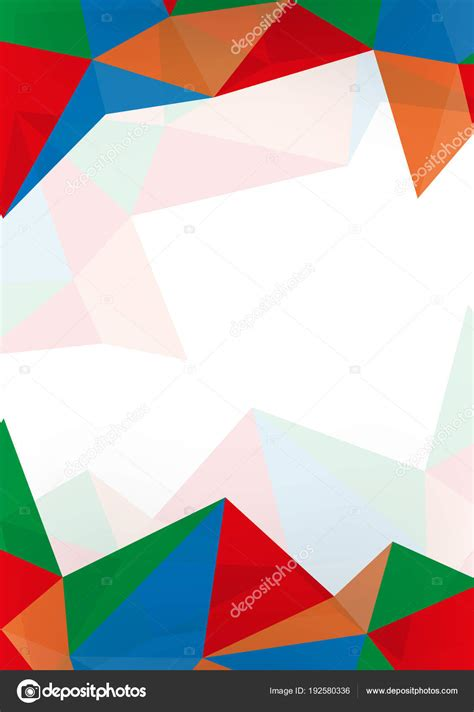 Abstract Wallpaper Design For School by Colourful Abstract Background With Space Stock Vector