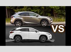 2016 Lexus NX VS 2016 Lexus RX 350 F Sport DESIGN! YouTube