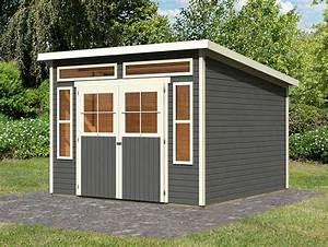Gerätehaus Mit Pultdach : ein pultdach gartenhaus von karibu ~ Michelbontemps.com Haus und Dekorationen