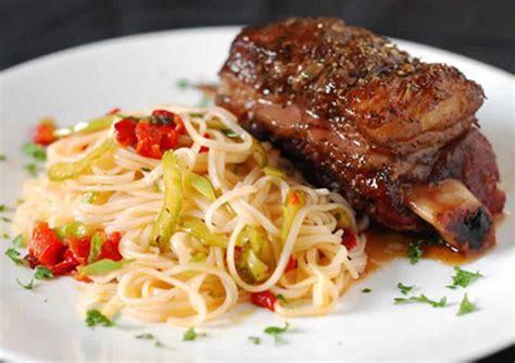 cote de boeuf spaghettis cookeo  plat de pates au viande