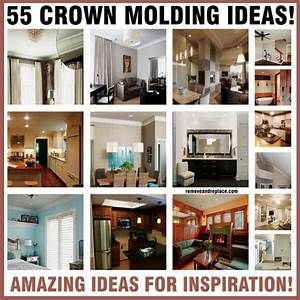 55 crown molding ideas homestead survival With what kind of paint to use on kitchen cabinets for kids sticker books