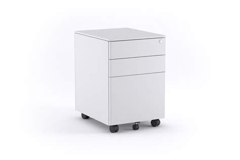 white pedestal desk with drawers mobile pedestal filing drawers metal white office
