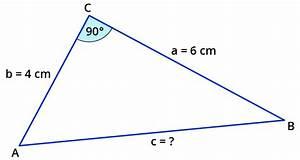 Satz Des Pythagoras A Berechnen : anwenden des satzes von pythagoras ~ Themetempest.com Abrechnung