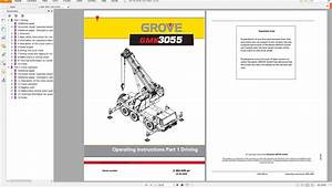 Grove Mobile Crane Gmk3055 Operating Instructions