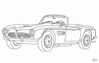 Coloring Bmw Printable Colorare Colorear Cars Disegni