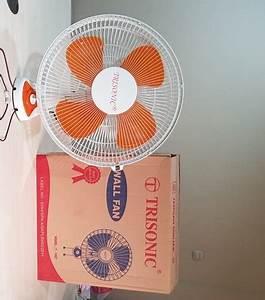 Kipas Angin Dinding Wall Fan 16 Inch Yang Bagus Merek Trisonic