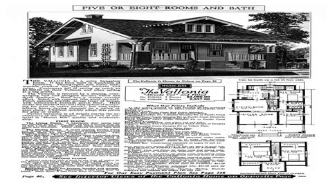 sears kit house plans  sears kit homes craftsman
