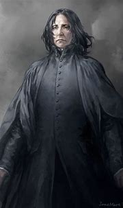 portrait of Professor Severus Snape.   Snape fan art ...