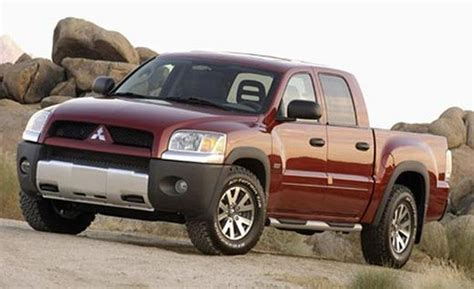 mitsubishi truck mitsubishi reviews specs prices top speed