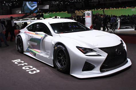 lexus rc  gt   racing   geneva motor show