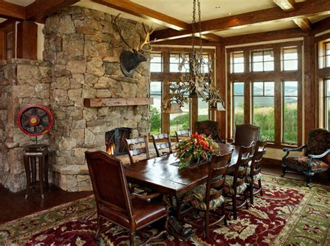 unique western dining rooms home design lover
