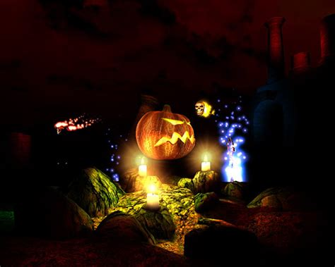 Free Halloween 3d Desktop Wallpaper Wallpapersafari