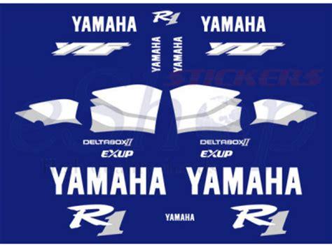 yzf    blue set eshop stickers