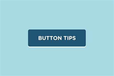 Button Design Tips Simple, Small And Vitally Important