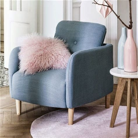 decorative fauteuil scandinave jimy la redoute via nat et nature