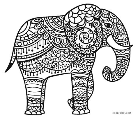 adult coloring pages elephant free printable elephant coloring pages for kids cool2bkids