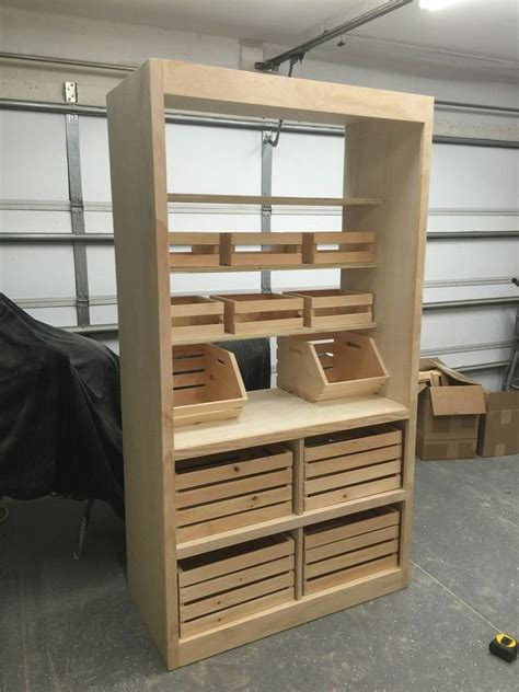Freestanding Pantry Closet Free Standing Pantry Organization Ideas Free Standing