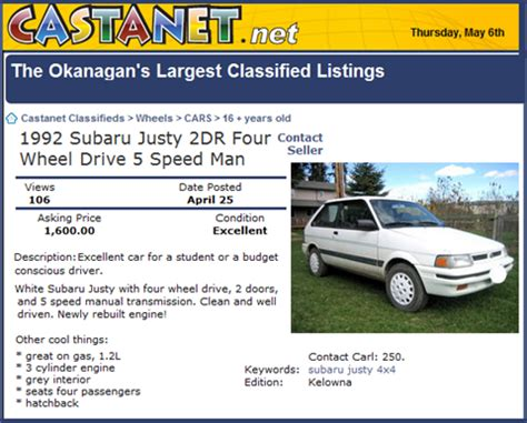 used car ads how to sell your used car online squawkfox