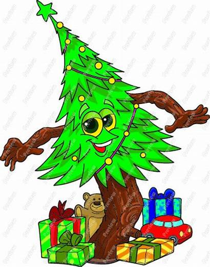 Animated Christmas Clip Tree December Clipart Meeting