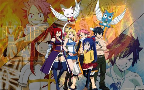 fairy tail characters wallpapers  wallpapers