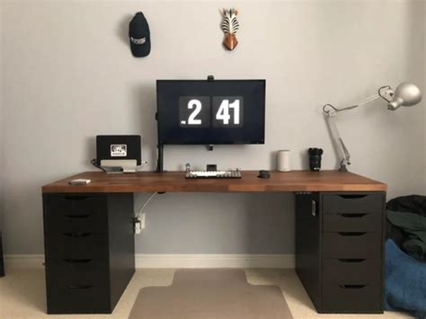 20 amazing diy ikea desk hacks for your home office these pictures of this page are about:ikea custom desk. The Ultimate Guide to Building Your Custom IKEA Desk ...