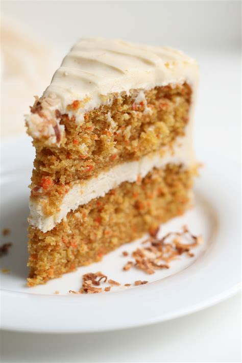 carrot cake  brown butter cream cheese frosting