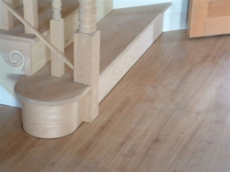 faq installing laminate  curved staircase