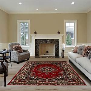 Large, Traditional, 9x12, Oriental, Area, Rug, Persien, Style, Carpet