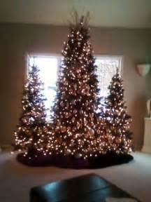 multiple christmas trees   roomone day