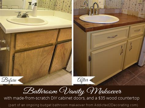 painting bathroom vanity before and after bathroom makeover day 5 the finished vanity before after