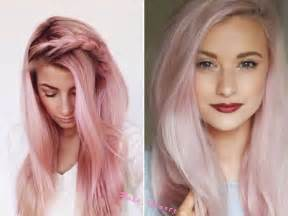 Rose Hair Color Trends 2016 Fall