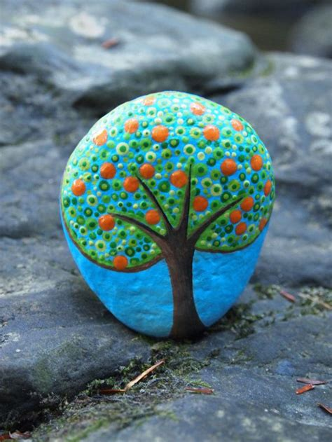 art  pebble painting     tutorials