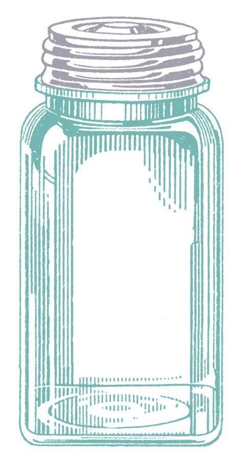 vintage images mason jars  graphics fairy