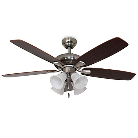 42 inch ceiling fan with light buy 42 inch dorset 4 light brushed nickel ceiling fan from