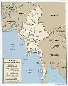 Maps Of Myanmar  Burma