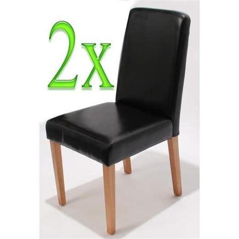 chaise salle a manger pas cher lot de 6 chaises de salle à manger lot de 2 ancona crème achat