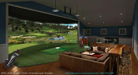 gsa golf golf simulator screens