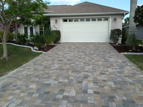 pictures of driveways with pavers driveway pavers port charlotte