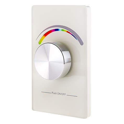 dimmer knob wall plate wireless rgb led dimmer switch for ez dimmer controller