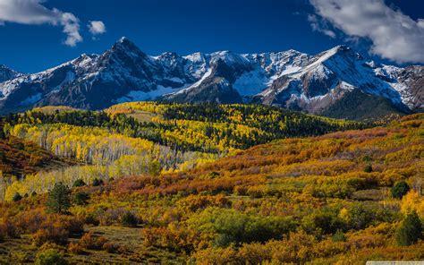 Mountain Landscape In Aspen, Colorado 4k Hd Desktop