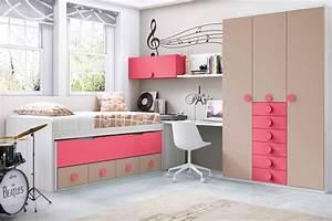 Chambre Complete Fille : chambre ado garcon ultra design personnalisable glicerio so nuit ~ Teatrodelosmanantiales.com Idées de Décoration