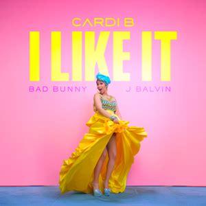 cardi b i like it like that you tube i like it cardi b bad bunny and j balvin song wikipedia