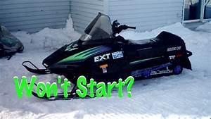 Arctic Cat Snowmobile Will Not Start  Won U0026 39 T Turn On  1990