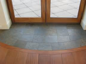 slate entryway to protect hardwood floors at door for when i finally rip all the tile